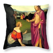 Easter Morning Throw Pillow