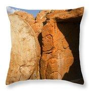 Easter Tomb Groom Texas Throw Pillow