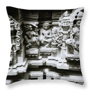 Eastern Beauty  Throw Pillow