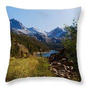 Eastern Sierras 23 Throw Pillow