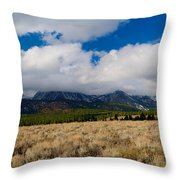 Eastern Sierras 24 Throw Pillow