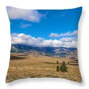 Eastern Sierras 25 Pano Throw Pillow