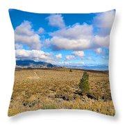 Eastern Sierras 29 Pano Throw Pillow