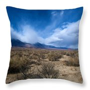 Eastern Sierras 4 Throw Pillow