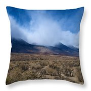 Eastern Sierras 6 Throw Pillow