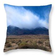Eastern Sierras Throw Pillow