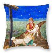 Eastern Star Throw Pillow