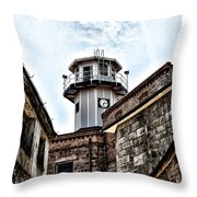 Eastern State Penitentiary Guard Tower Throw Pillow