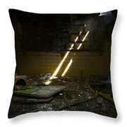 Eastern State Penitentiary Throw Pillow
