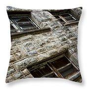 Eastern State Windows Throw Pillow