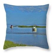 Eastham Shoreline Throw Pillow