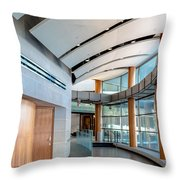 Eastman School Of Music Front Hall Throw Pillow