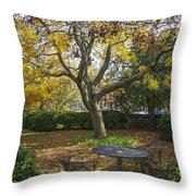 Easton Garden Throw Pillow