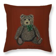 Easton's Teddy Throw Pillow
