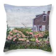 Eastward Look Throw Pillow