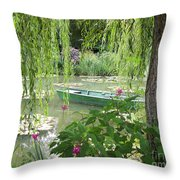 Easy Living Throw Pillow
