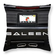Easy Saleen Throw Pillow
