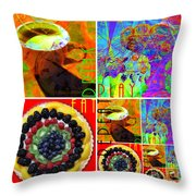 Eat Drink Play Repeat 20140705 Throw Pillow