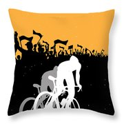 Eat Sleep Ride Repeat Throw Pillow