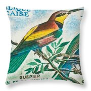 Eater Conservation Camargue Throw Pillow