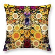 Eating Humble Pie II Throw Pillow