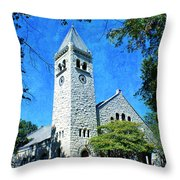 Eaton Chapel Throw Pillow