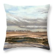 Ebb Tide-the Gurnet Throw Pillow