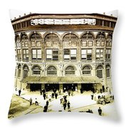 Ebbetts Field Throw Pillow