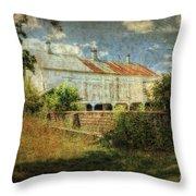 Ebert's Old Barn Throw Pillow
