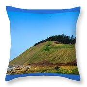 Ebey's Bluff Throw Pillow
