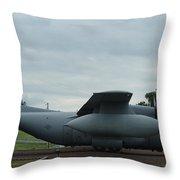 Ec130e Cargo Plane Throw Pillow