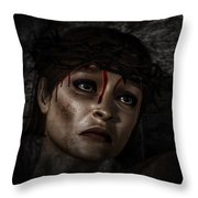 Ecce Femina Throw Pillow