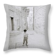 Innocence Of Childhood Throw Pillow