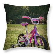 Echoes Of Childhood Throw Pillow