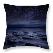 Echoes Of The Unknown Throw Pillow