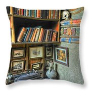 Eclectic Office Throw Pillow