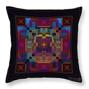 Eclipse 2012 Throw Pillow