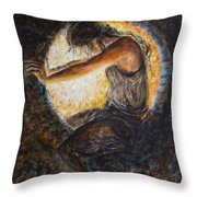 Eclipsed Throw Pillow
