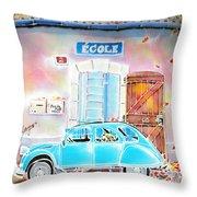 Ecole Throw Pillow