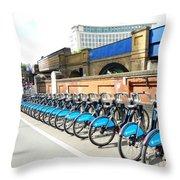 Ecological Transport Throw Pillow