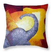 Ecstasy Throw Pillow by Draia Coralia