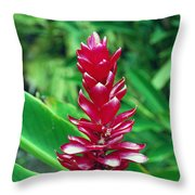 ed Flower Throw Pillow