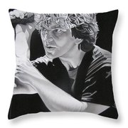 Eddie Vedder  Throw Pillow