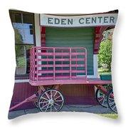 Eden Center Depot 1943 Throw Pillow