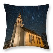 Eden Trails Throw Pillow