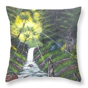 Eden's Bridge Throw Pillow
