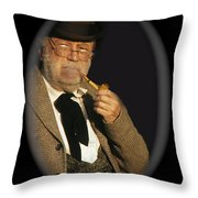 Edgar Buchanan Old Tucson Arizona 1971-2009 Throw Pillow
