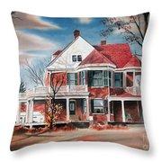 Edgar Home Throw Pillow by Kip DeVore