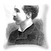Edgar Vincent (1857-1941) Throw Pillow
