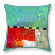 Edge 48 Throw Pillow by Jane Davies